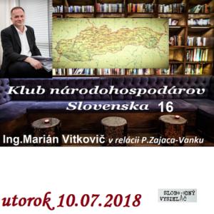 Klub národohospodárov Slovenska 16