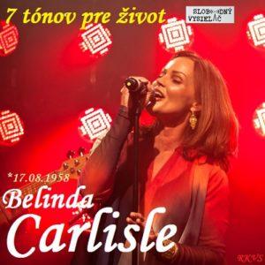 7 tónov pre život…Belinda Carlisle
