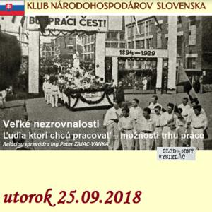 Klub národohospodárov Slovenska 19