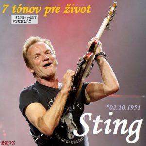 7 tónov pre život…Sting