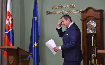 VIDEO: A. Danko chce, aby poslanci hlasovali o dôvere voči jeho osobe.