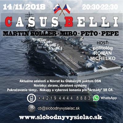 Casus belli 54 (repríza)