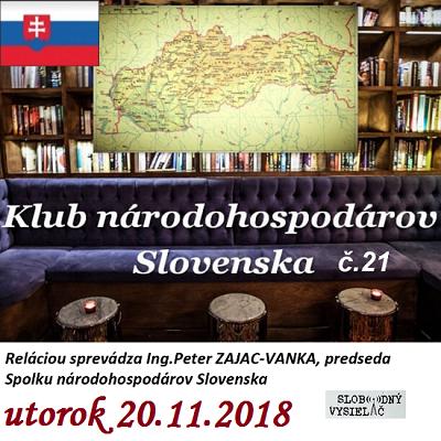 Klub národohospodárov Slovenska 21