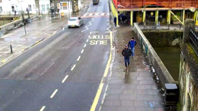Briti zverejnili ďalšie videozáznamy s podozrivými z otravy Skripaľa. 1