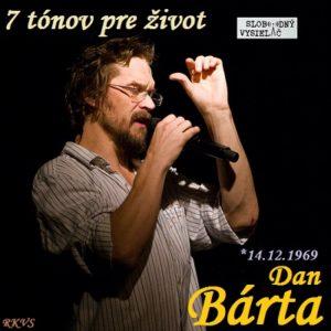 7 tónov pre život…Dan Bárta