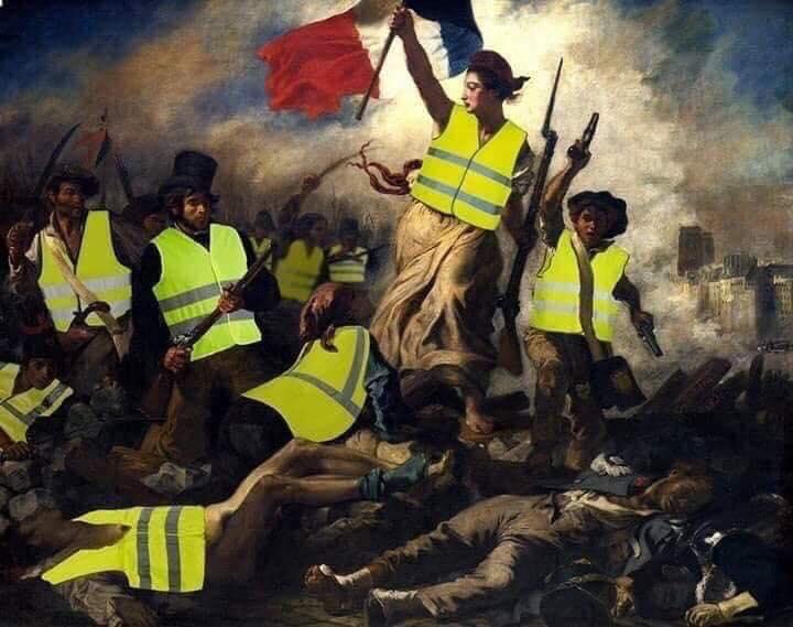 Výsledok vyhľadávania obrázkov pre dopyt ŽLTÉ vesty francia