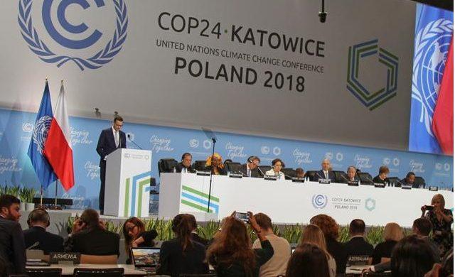 Také světová konference oklimatu vKatovicích zkrachovala. 1