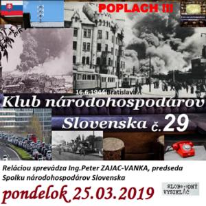 Klub národohospodárov Slovenska 29