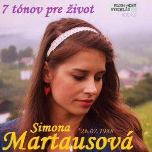 7 tónov pre život…Simona Martausová