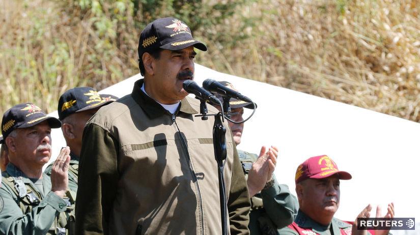 Maduro odmieta vpustiť do krajiny 'falošnú' humanitárnu pomoc. 1