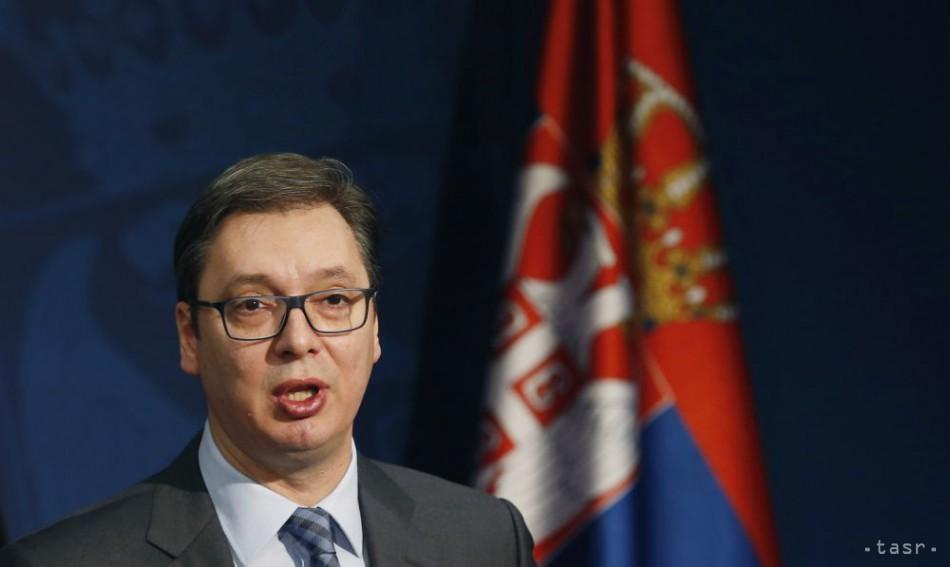 Srbský prezident Vučič naznačil uznanie Kosova na základe kompromisov. 1