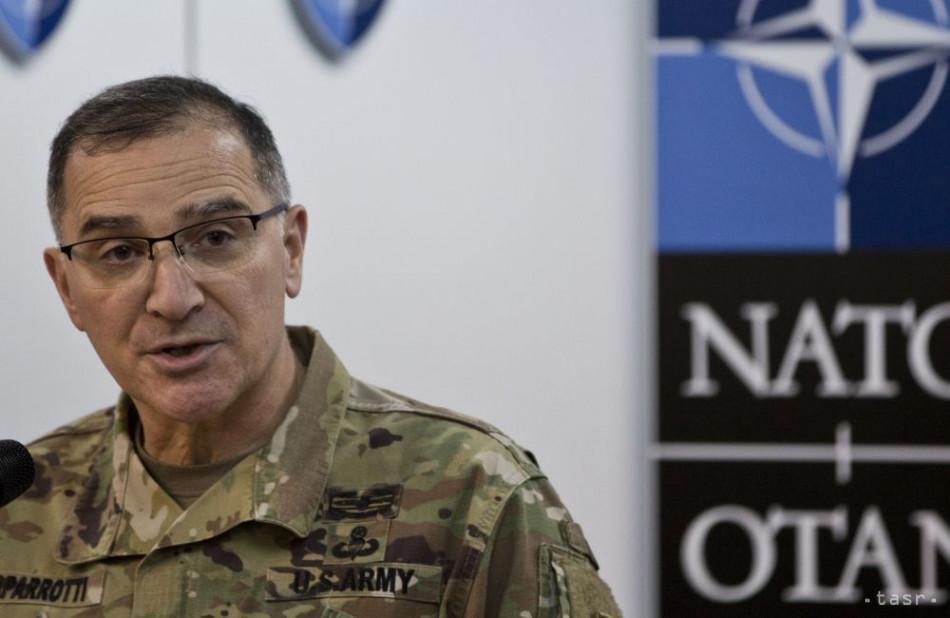 Veliteľ síl NATO v Európe chce posilniť obranu Ukrajiny pred Ruskom. 1