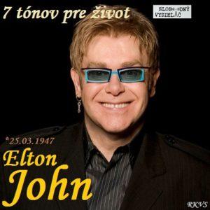 7 tónov pre život…Elton John
