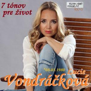 7 tónov pre život…Lucie Vondráčková