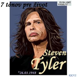 7 tónov pre život…Steven Tyler