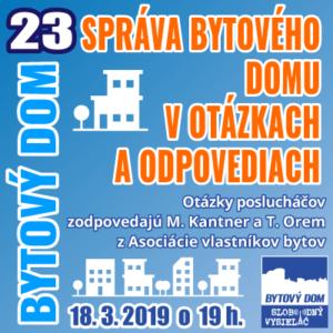 Bytový dom 23