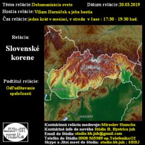Slovenské korene 45