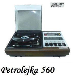 Petrolejka 560