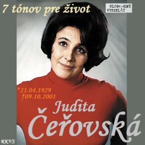 7 tónov pre život…Judita Čeřovská