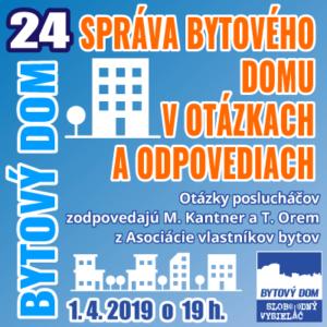 Bytový dom 24