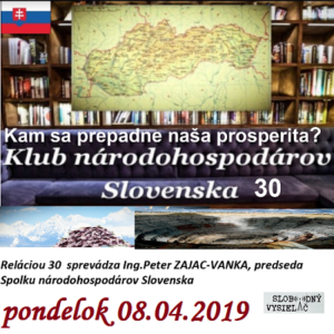 Klub národohospodárov Slovenska 30