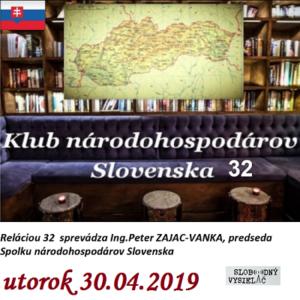 Klub národohospodárov Slovenska 32