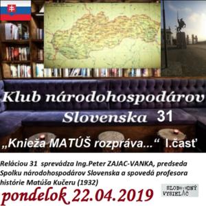 Klub národohospodárov Slovenska 31
