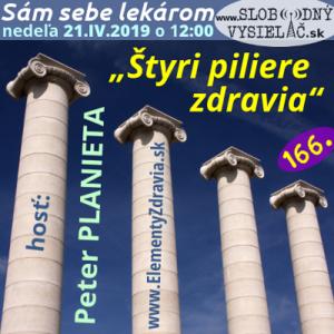 Sám sebe lekárom 166 (Štyri piliere zdravia)