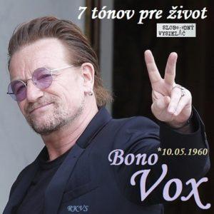 7 tónov pre život…Bono