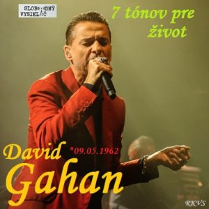 7 tónov pre život…Dave Gahan