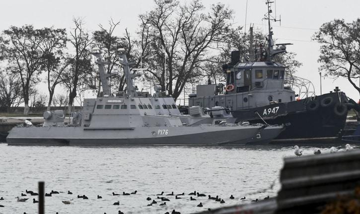 Medzinárodný tribunál rozhodol: Rusko musí prepustiť ukrajinské lode a námorníkov. 1