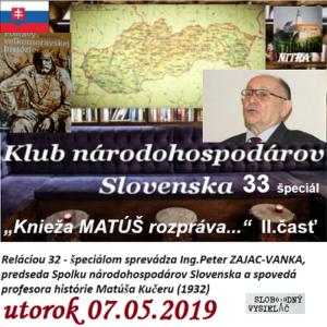 Klub národohospodárov Slovenska 33