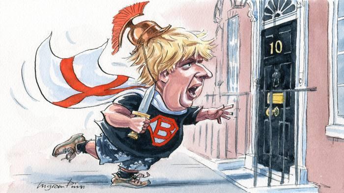Sráč Boris konečně premierem. 1