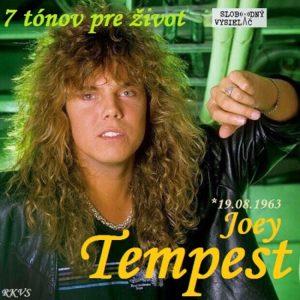 7 tónov pre život…Joey Tempest 1