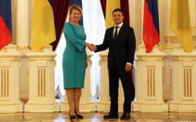 Čaputová ocenila Zelenského reformy a snahu o vyriešenie konfliktu.