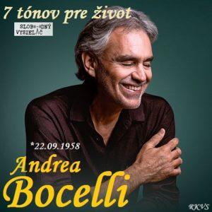 7 tónov pre život…Andrea Bocelli