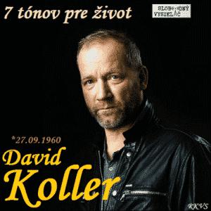 7 tónov pre život…David Koller