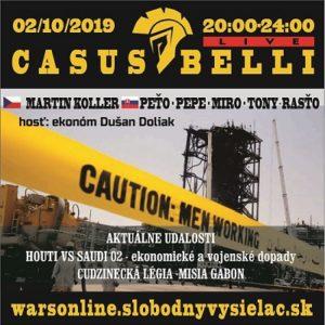 Casus belli 77 (repríza)