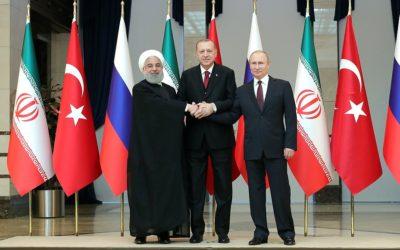 Rusko, Turecko a Irán oznámili dohodu o komisii na prepracovanie sýrskej ústavy.