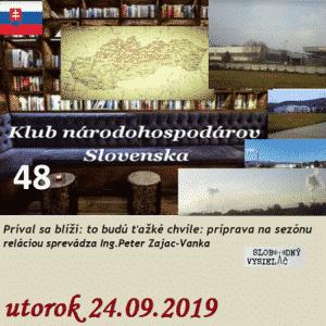 Klub národohospodárov Slovenska 48