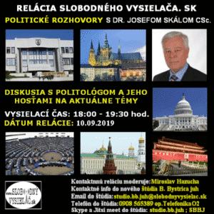 Politické rozhovory s Romanom Michelkom a spol. 25