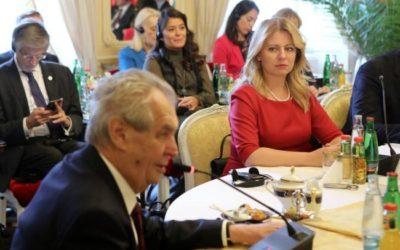 Zeman v Lánoch: V4 je úspešná, lebo zabránila migračným kvótam.