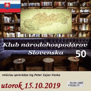 Klub národohospodárov Slovenska 50