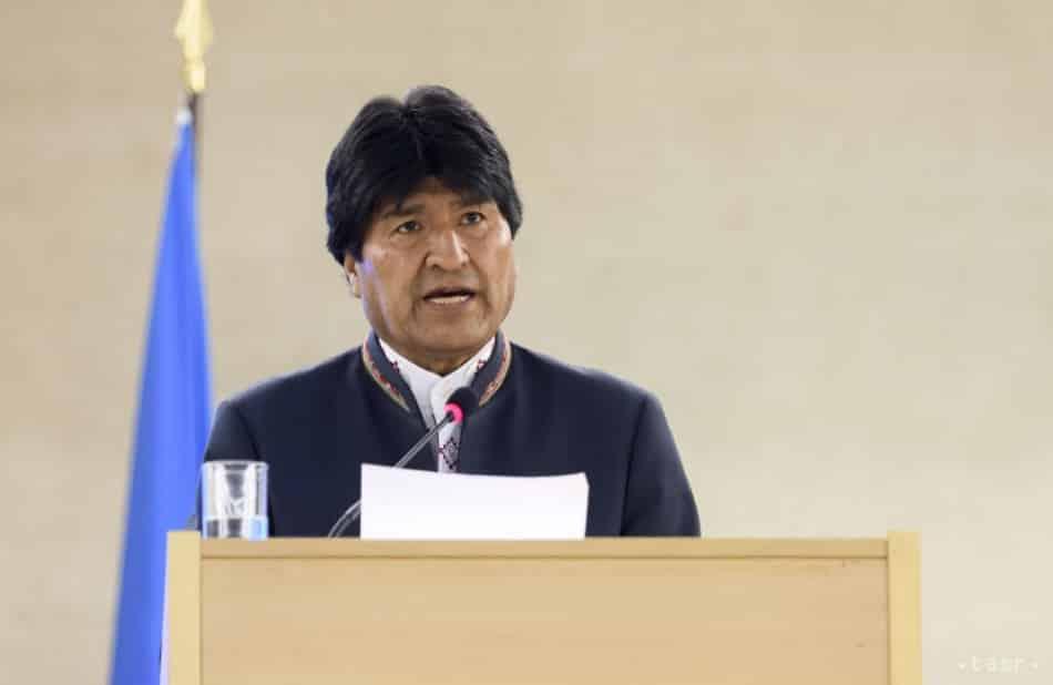 Bolívijský prezident E. Morales oznámil svoju rezignáciu. 1