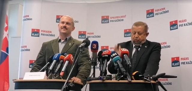 Strana Vlasť pôjde do parlamentných volieb samostatne, svoje vyhlásenie však strana poslala médiám ešte počas rokovania. Kotleba, ktorý sa to dozvedel až na tlačovke, demonštratívne odišiel. 1
