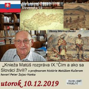 Klub národohospodárov Slovenska 55 (repríza)