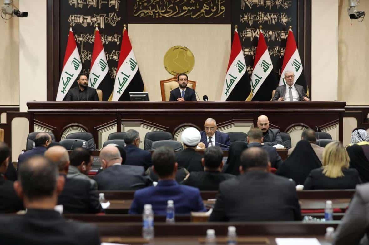 Zařiďte odchod cizích vojsk ze země, vyzval irácký parlament vládu. 1