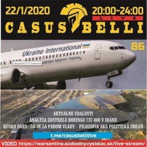 Casus belli 86 (repríza)