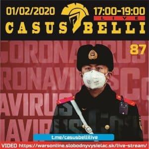 Casus belli 87 (repríza)