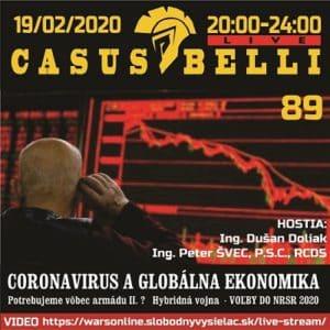 Casus belli 89 (repríza)